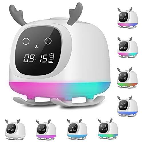 Wake Up Light Bluetooth Speaker Table Lamp Alarm Clock
