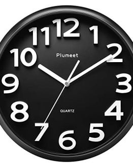 Kitchen Office Silent Non-Ticking Large Wall Clock