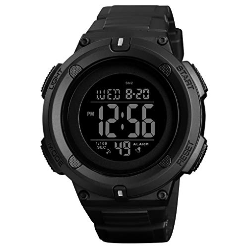 Military Watches and 50m Waterproof Stopwatch