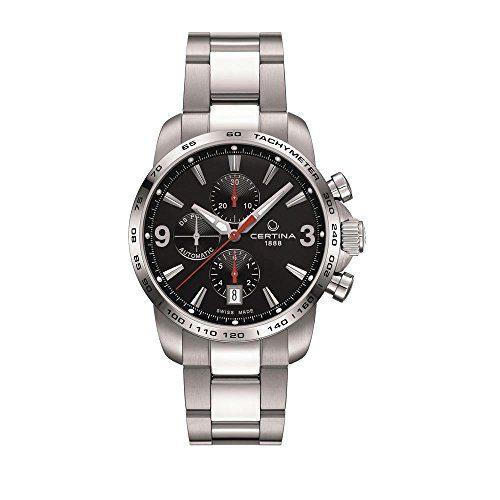 Certina Men's Chronograph Gent Automatic Analog Watch