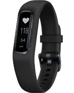 Garmin Refurbished vivosmart 4, Black/Slate