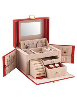 Jewelry Box Storing for Watch Faux Leather