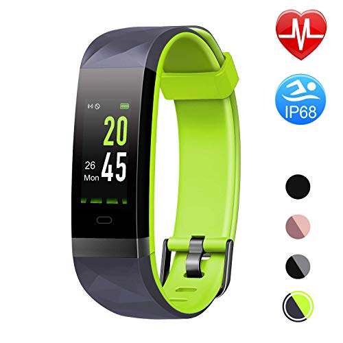 Step Counter Heart Rate Monitor Smart Watch