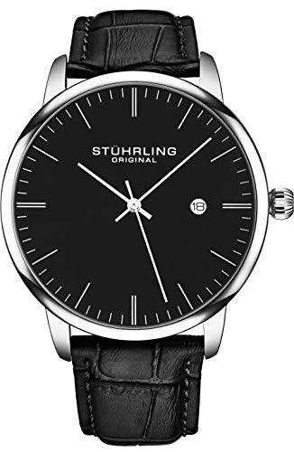 Stuhrling Original Watch Calfskin Leather Strap