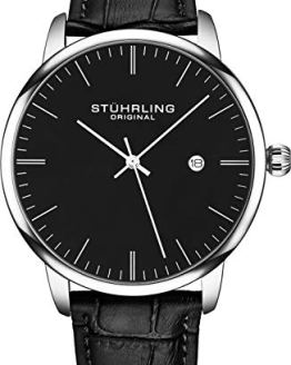 Stuhrling Original Watch Calfskin Leather Strap