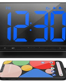 Bedrooms, Bedside Digital Alarm Clock with Large Display