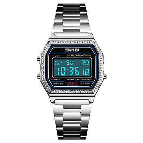 Digital Fashion Ultra Thin Square Ladies Wrist Watch
