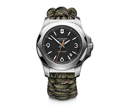 Victorinox Swiss Army Men's I.N.O.X. Paracord Green Strap Watch