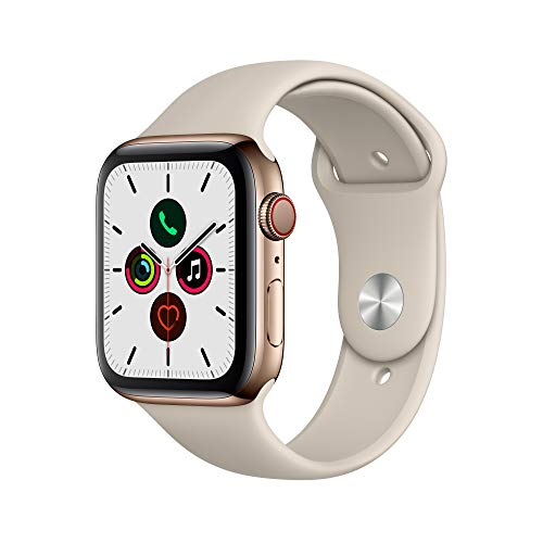 Apple Watch Series 5 (GPS+Cellular, 44mm) - Gold Stainless Steel Case