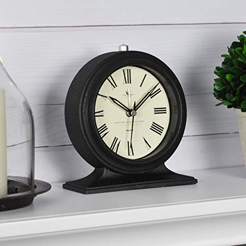 Black FirsTime Co. Antolini Tabletop Clock
