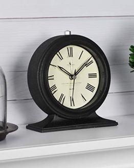 Black FirsTime Co. Antolini Tabletop Clock