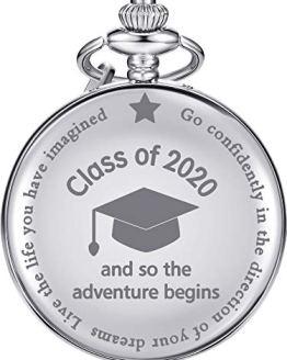 So The Adventure Begins Pocket Watch Engraved