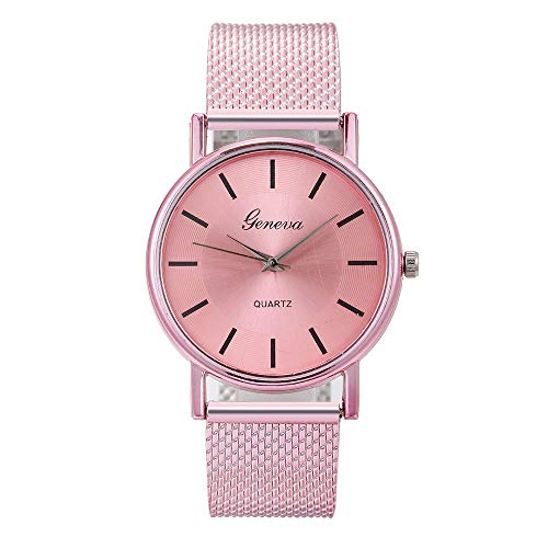Wrist Watch Ultra Thin Minimalist Luxury Mesh Bracelet