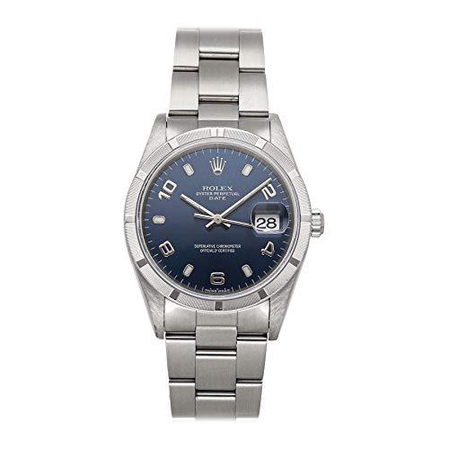 Blue Dial Mens Rolex Datejust