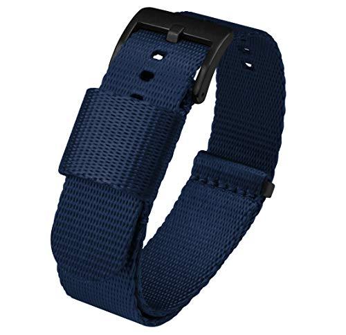 Navy Blue BARTON Jetson NATO Style Watch Strap