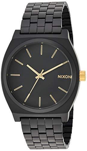 Nixon Time Teller Matte Black/Gold Unisex Watch