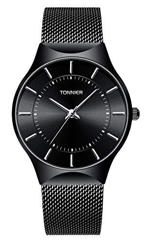 Ruiwatchworld Men's Analog Quartz Watch Minimalist Wrist