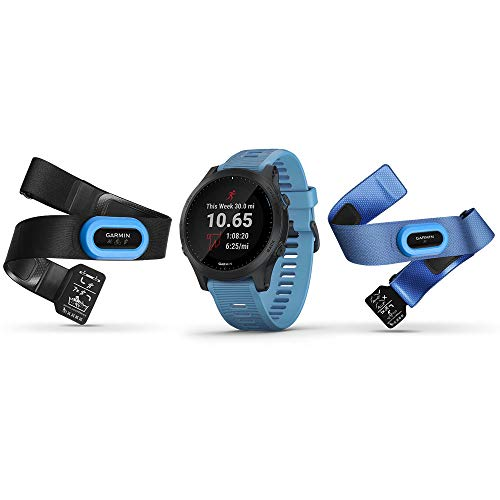 Garmin Forerunner 945 Bundle, Premium GPS Running/Triathlon Smartwatch