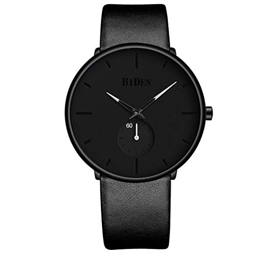 Mens Watches Fashion Simple Minimalist Waterproof Quartz Watch