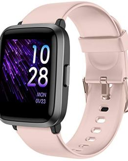 Smart Watch Women Fitness Tracker Blood Pressure Monitor Blood Oxygen