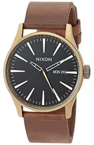 NIXON Men's Stainless Steel Japanese Quartz Watch Strap