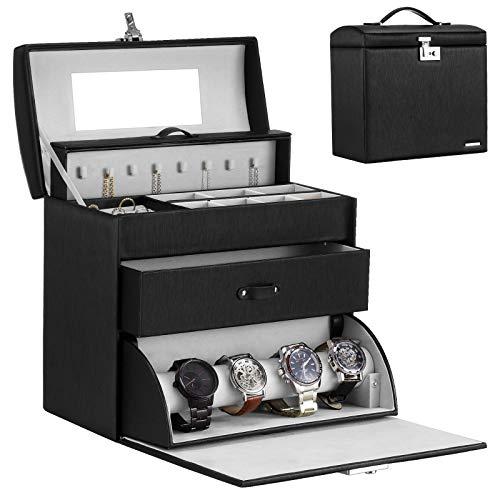 Homde Jewelry Display Box for Men Women Necklace