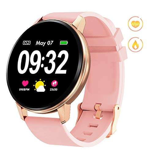 Smart Watch with Heart Rate Blood Pressure Sleep Monitor