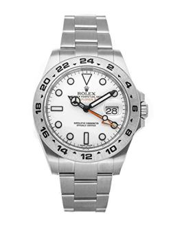 Rolex Explorer II Mechanical (Automatic) White Dial Mens Watch