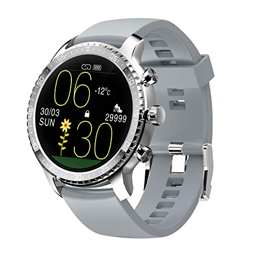 Tinwoo Smart Watch for iPhones / Android, Support Wireless Charging