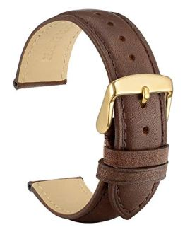 WOCCI Watch Band 18mm - Vintage Leather Watch Strap