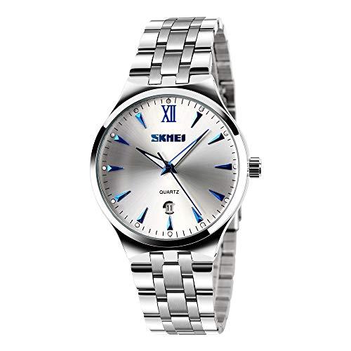 Mens Watch, Unique Quartz Analog Dress Business Casual Watches