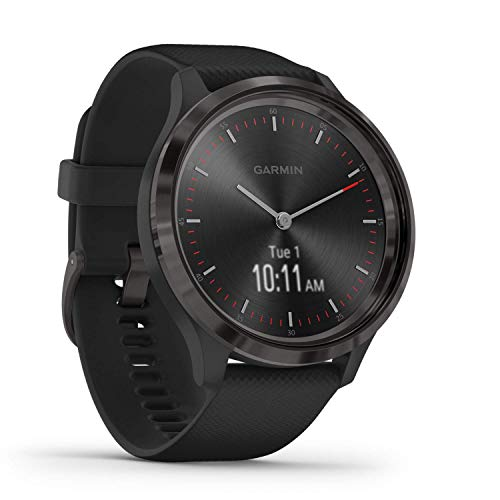 Garmin vivomove 3, Hybrid Smartwatch with Real Watch Hands