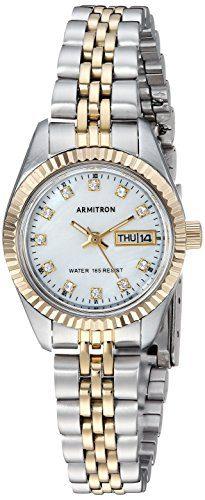 Armitron Women's Swarovski Crystal Bracelet Watch