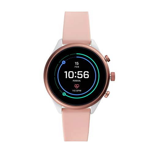 Fossil Women's Gen 4 Sport Heart Rate Metal and Silicone