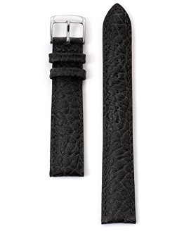 Brown Honey Buffalo Speidel Leather Watch Band Black
