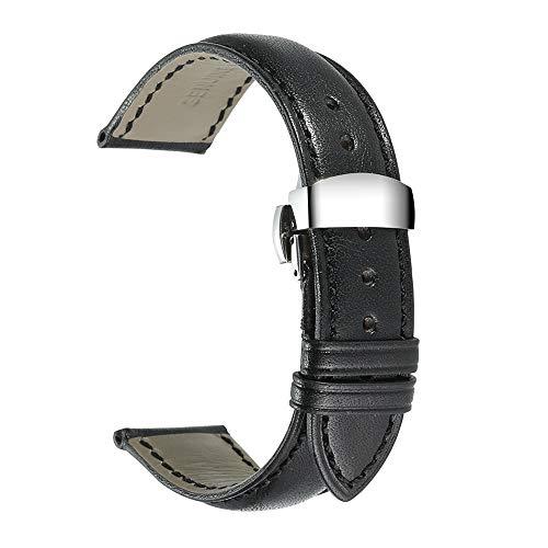 iStrap Genuine Leather Watch Band Calfskin Strap