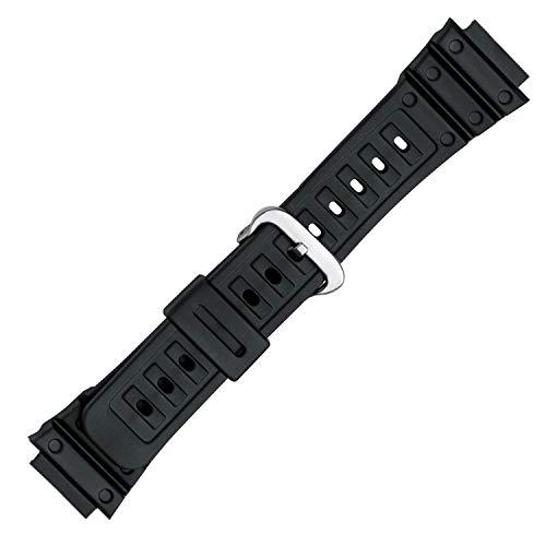 Casio G Shock Speidel PVC Replacement Black Watch Band