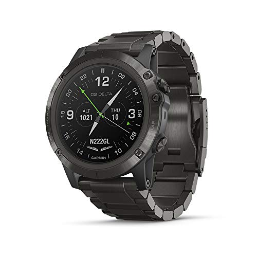 GPS Pilot Smart Watch with Pulse Ox Sensor Heart Rate and Music
