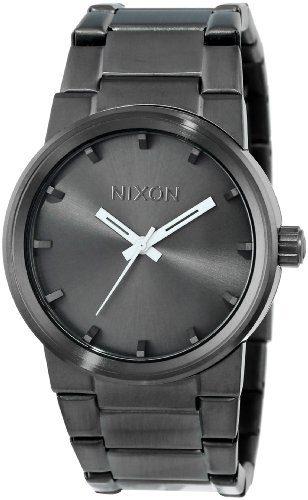 Nixon Mens Cannon Japanese quartz Stainless Steel watches