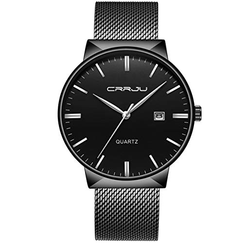 Ultra Thin Wrist Watches for Men Fashion Classic