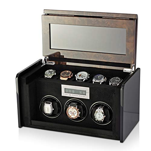 Watch Winder Box for Self-winding Backlight