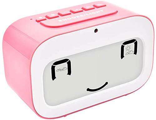 Emoji Desk Clock Smart Backlight