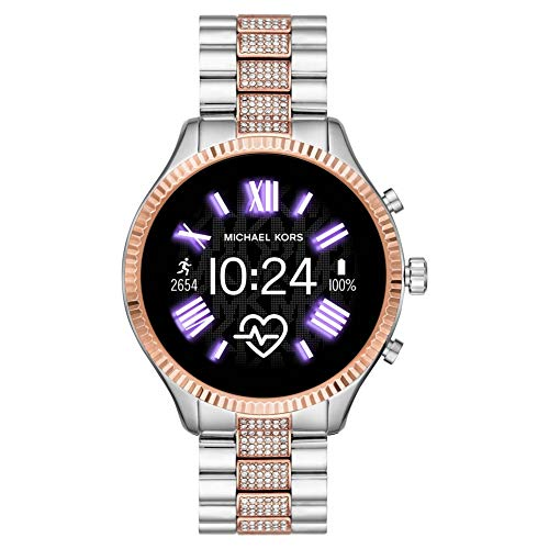 Michael Kors Smartwatch Two-Tone Silver
