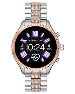 Michael Kors Smartwatch Two-Tone Silver