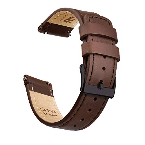 Ritche Quick Release Leather Watch Band Leather Watch Strap