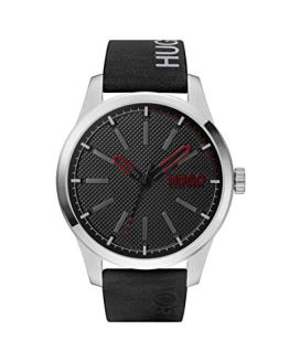Hugo Boss Men's Watch with Leather Calfskin Strap