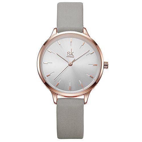 Elegant Diamond Wristwatch Girls Ultra-Thin Waterproof