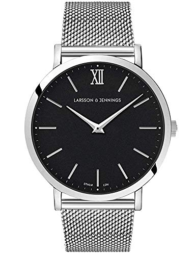 Larsson Jennings Watch with 40mm Black dial