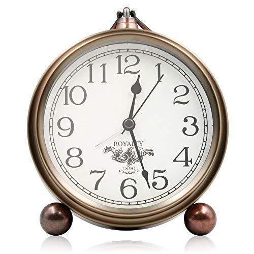 Living Room Metal Antique Table Clock