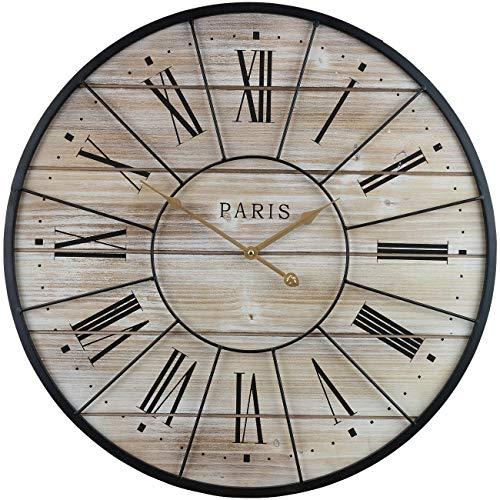 Paris Oversized Wall Clock Centurion Roman Numeral Hands